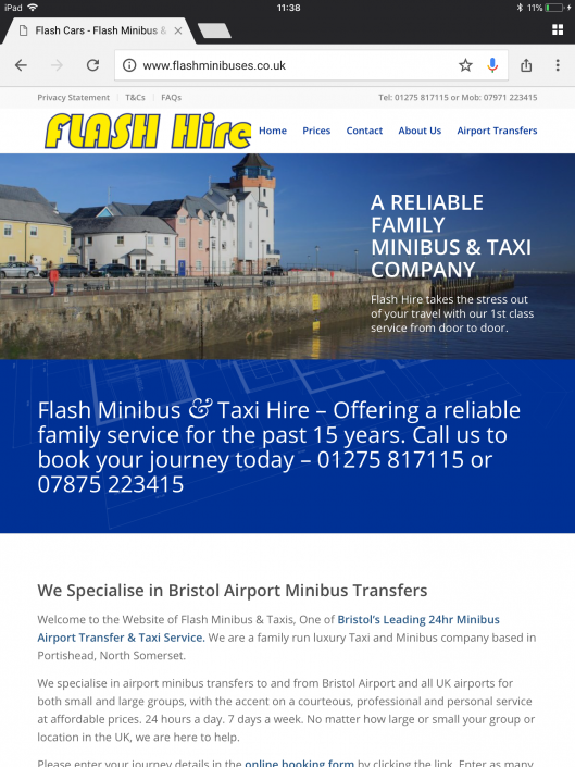 Flash Minibuses & Taxis